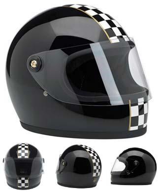 helmet checkered